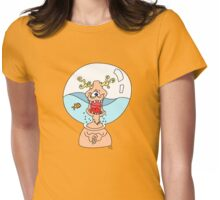 Fish Bowl. Womens Fitted T-Shirt