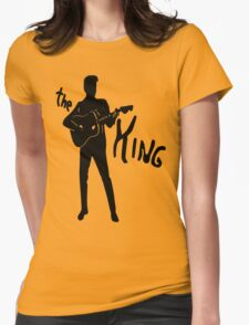 the king of rock t-shirt Womens Fitted T-Shirt