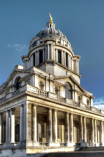 Naval College at Greenwich by Karen Martin