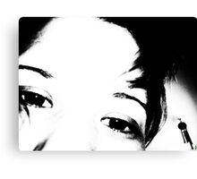 Holly #3 Kiss Canvas Print