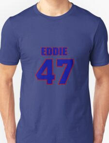 National football player Eddie Anderson jersey 47 T-Shirt