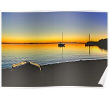 Lake Macquarie Sunrise Poster
