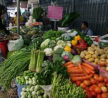 Market - Fruit And Veg by Dave Lloyd