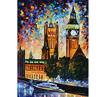 BIG BEN limited edition giclee of L.AFREMOV painting  Photographic Print