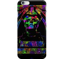 PAPA EMERITUS II - STAINED GLASS BLACK  - SATAN PRAYER iPhone Case/Skin