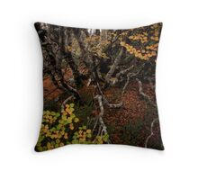 Into the Undergrowth Throw Pillow