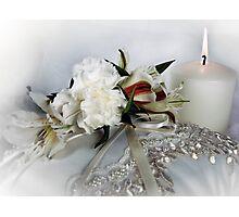 Bridal Bliss Photographic Print