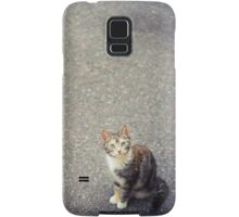 Cute little cat Samsung Galaxy Case/Skin