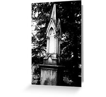 Monument Greeting Card