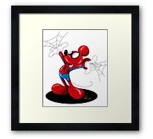 SpiderMouse Framed Print