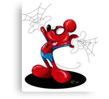 SpiderMouse Canvas Print