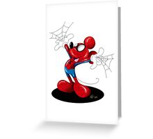 SpiderMouse Greeting Card