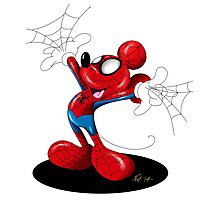 SpiderMouse Photographic Print