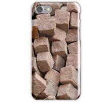 Pile of unused cobblestones. iPhone Case/Skin