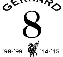 Steven Gerrard by ReddPhoenix