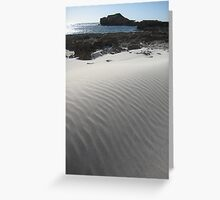 wind dune Greeting Card