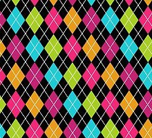 Colored Argyle by galacticrad