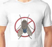Blue Arse Fly Unisex T-Shirt