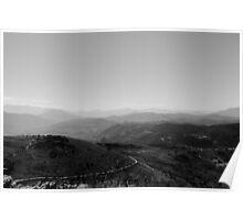 Path to Earth - Italian Landscape  Poster