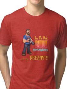 Canon Photographer Tri-blend T-Shirt