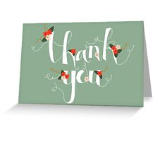 Sophia Thank You/Greetings Card Greeting Card