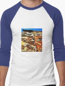 Catch a basket to the sky.... Men's Baseball ¾ T-Shirt