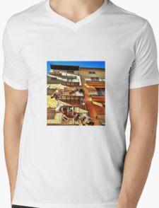 Catch a basket to the sky.... Mens V-Neck T-Shirt