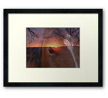 Equine Sunrise Framed Print