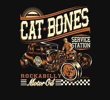 Cat Bones Service Station Unisex T-Shirt