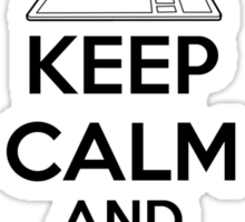Keep calm and Tumblr on Sticker