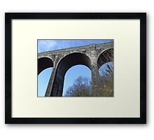 3 arches Framed Print