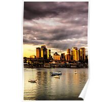 Storm Clouds - McMahons Point - Moods Of A City - The HDR Series Poster