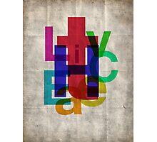 Helvetichroma Photographic Print