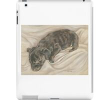 puppy pastel portrait iPad Case/Skin