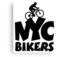 NYC Bikers Canvas Print