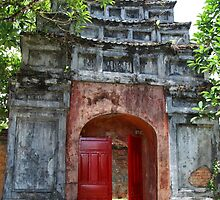 The Tomb Gate - Hue, Vietnam. by Tiffany Lenoir