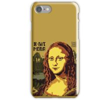 Mona Lisa Pixelated 8bit iPhone Case/Skin