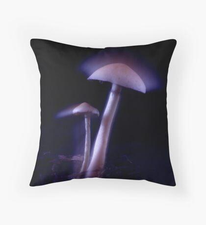Magical Mushrooms Throw Pillow
