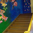 Fun Stairway to Random Door by BonEll