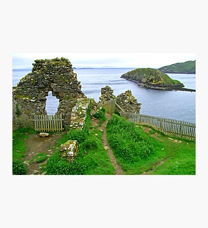 Duntulm Castle Photographic Print