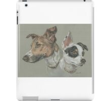 Pastel dog portrait iPad Case/Skin