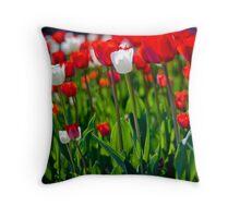 Spring Flowers - Borås - Sjöbo Torg Throw Pillow