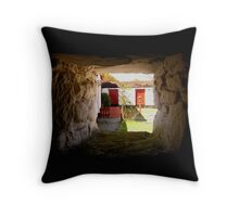 room with a view ... Throw Pillow