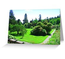 Armadale Castle Gardens Greeting Card