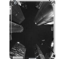 Raffles Plaza in Fisheye (B&W) iPad Case/Skin