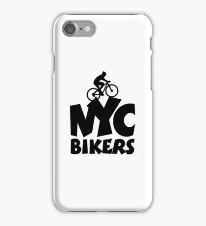 NYC Bikers iPhone Case/Skin