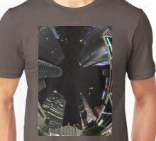 Raffles Plaza in Fisheye2 Unisex T-Shirt