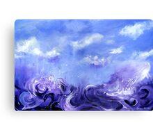 Lavender Seas Canvas Print