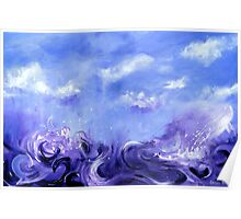 Lavender Seas Poster