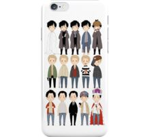 johns and sherlocks and moriarties iPhone Case/Skin